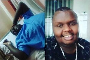 Revered Kenyan rapper undergoes surgery barely days after blasting fan on live TV interview