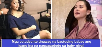 Breastfeeding, kadiri? Netizen outraged over students shaming friend who was breastfeeding her baby at a BPI branch