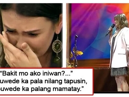 Ito na yata ang pinakamatinding 'hugot' niya! Angelica Panganiban bares her heart and soul through 'Spoken words' at Moira's concert