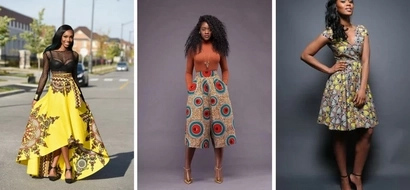 These 7 African print inspired outfits are perfect for Church!