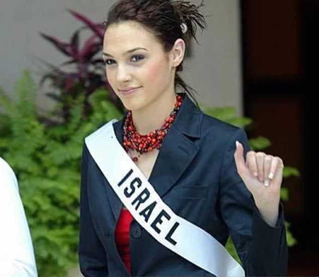 'Wonder Woman' Gal Gadot was a 2004 Miss Universe contender before she became a Hollywood star
