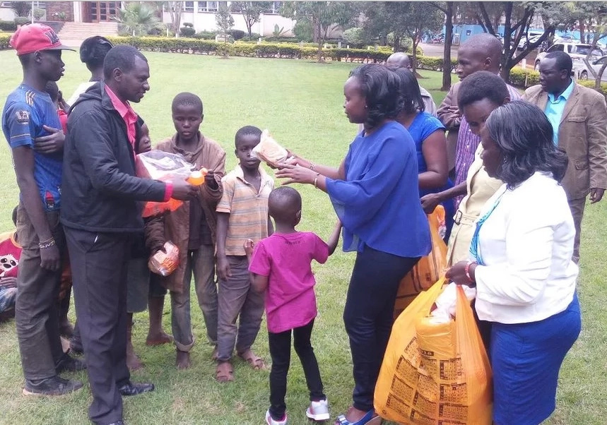 Rudisha's wife, daughter celebrate historic win in Eldoret town