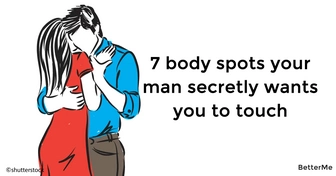 The top 7 body spots your man secretly wants you to touch