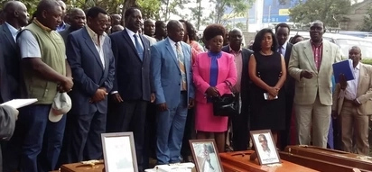 Raila demands compensation for 215 people killed by police during NASA protests