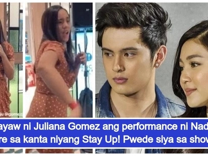 Malupet pala sumayaw! Juliana Gomez wows netizens with dance performance of Nadine Lustre's song 'Stay Up'