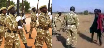 MY GOD! See how this heartless KWS officers savagely beat up Maasai herders (video)