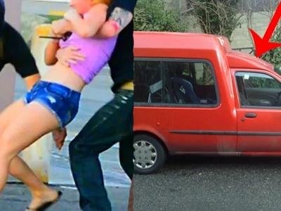 Young girl was kidnapped by men in a red van. You will not believe what happened to her and how she managed to escape