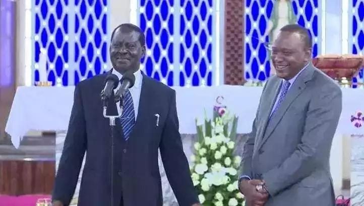 Raila Odinga ajiunga na familia ya Kenyatta kuomboleza kifo cha dadake Uhuru Kenyatta