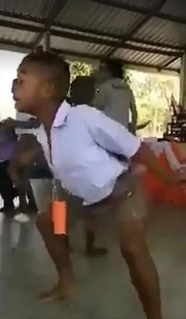 Young boy's dance steps caught on video, went viral