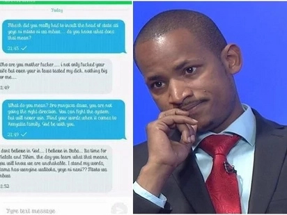 I don't believe in God, I believe in Raila - Babu Owino declares in an alleged heated conversation