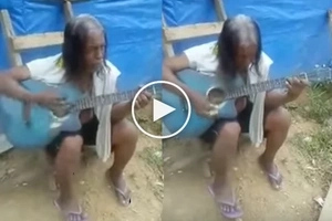 This homeless man got his guitar and started playing. Find out why everyone around started crying, hearing his voice