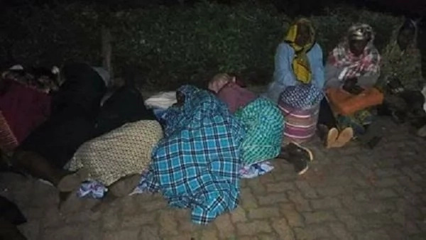 Shame follows Uhuru Kenyatta after women who performed for him sleep in the cold