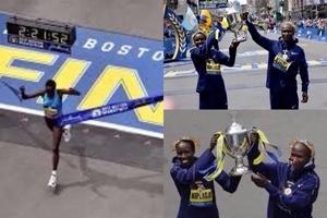 Kenyans show the world DUST in Boston Marathon