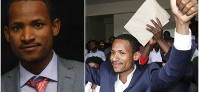 Babu Owino FLAUNTS his academic prowess and his supporters can't keep calm