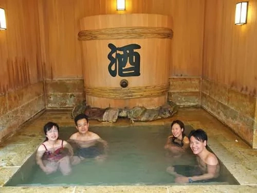 Japanese spa resort boasts of unique hot springs