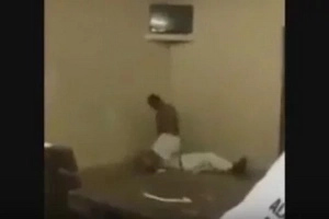 Prison Fight Turns Into WWE SMACKDOWN