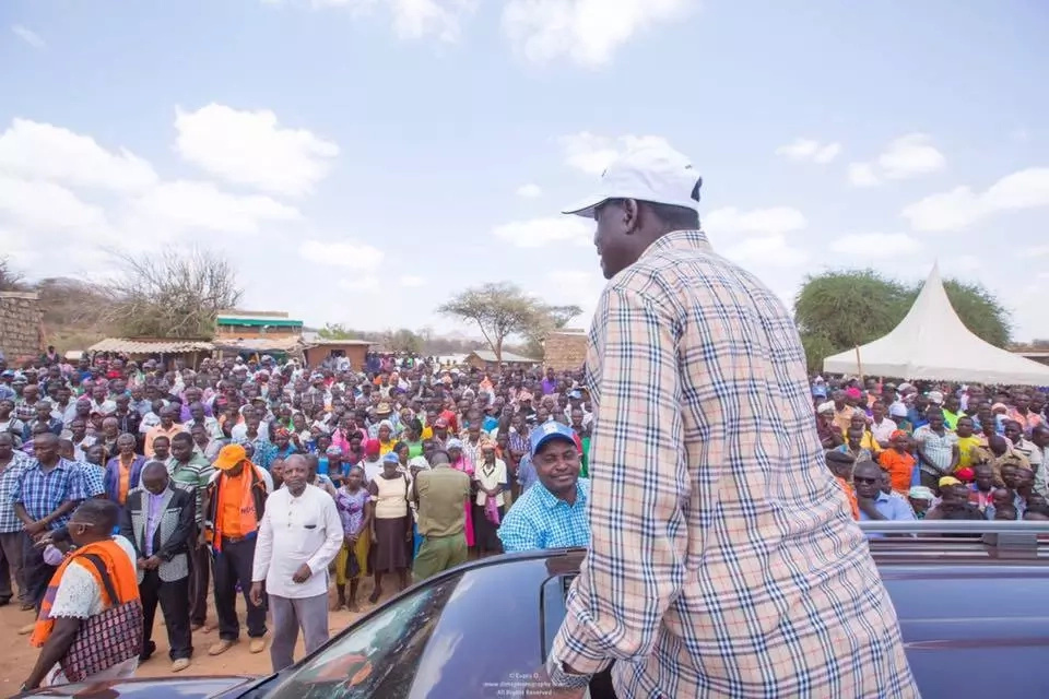 The nation is sick and needs a cure- Raila goes HARD on Jubilee in Uhuru's stronghold