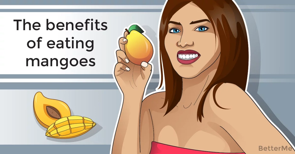 The benefits of eating mangoes