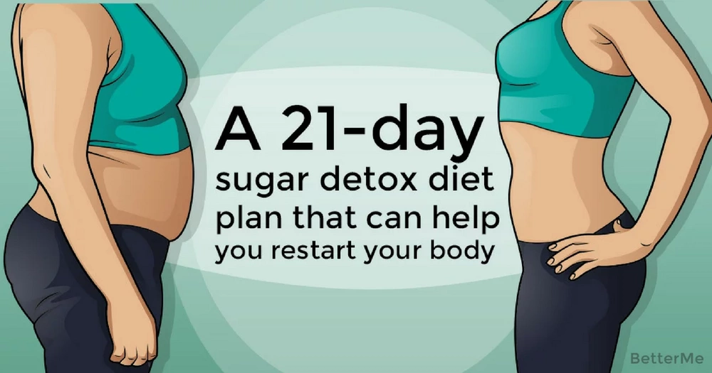 A 21-day sugar detox diet plan that can help you restart your body