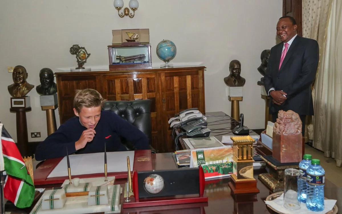 Picha 5 Uhuru Kenyatta hangependa kuziona tena maishani