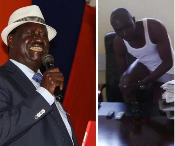 Mwakilishi aliyevua nguo kulalamikia dhuluma dhidi ya Raila aadhibiwa vikali wakati wa uteuzi