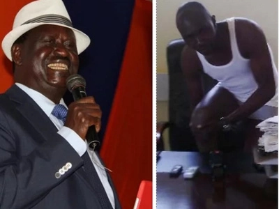 MCA who removed his clothes before the media to protest harassment of Raila wins big in ODM nominations