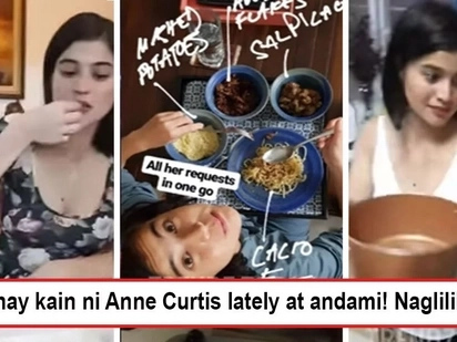 Sobrang takaw na niya! Anne Curtis' sudden cravings for different kinds of food make people wonder if there's already a bun in the oven
