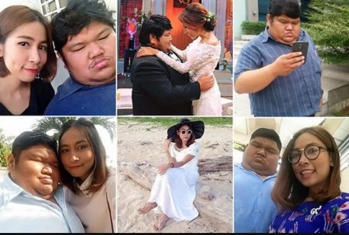 He's fat and ugly but I love him - slim woman (photos)