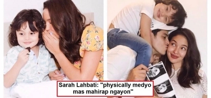 Naglilihi na siya! Sarah Lahbati reveals new details about her pregnancy, including her cravings & difficulties
