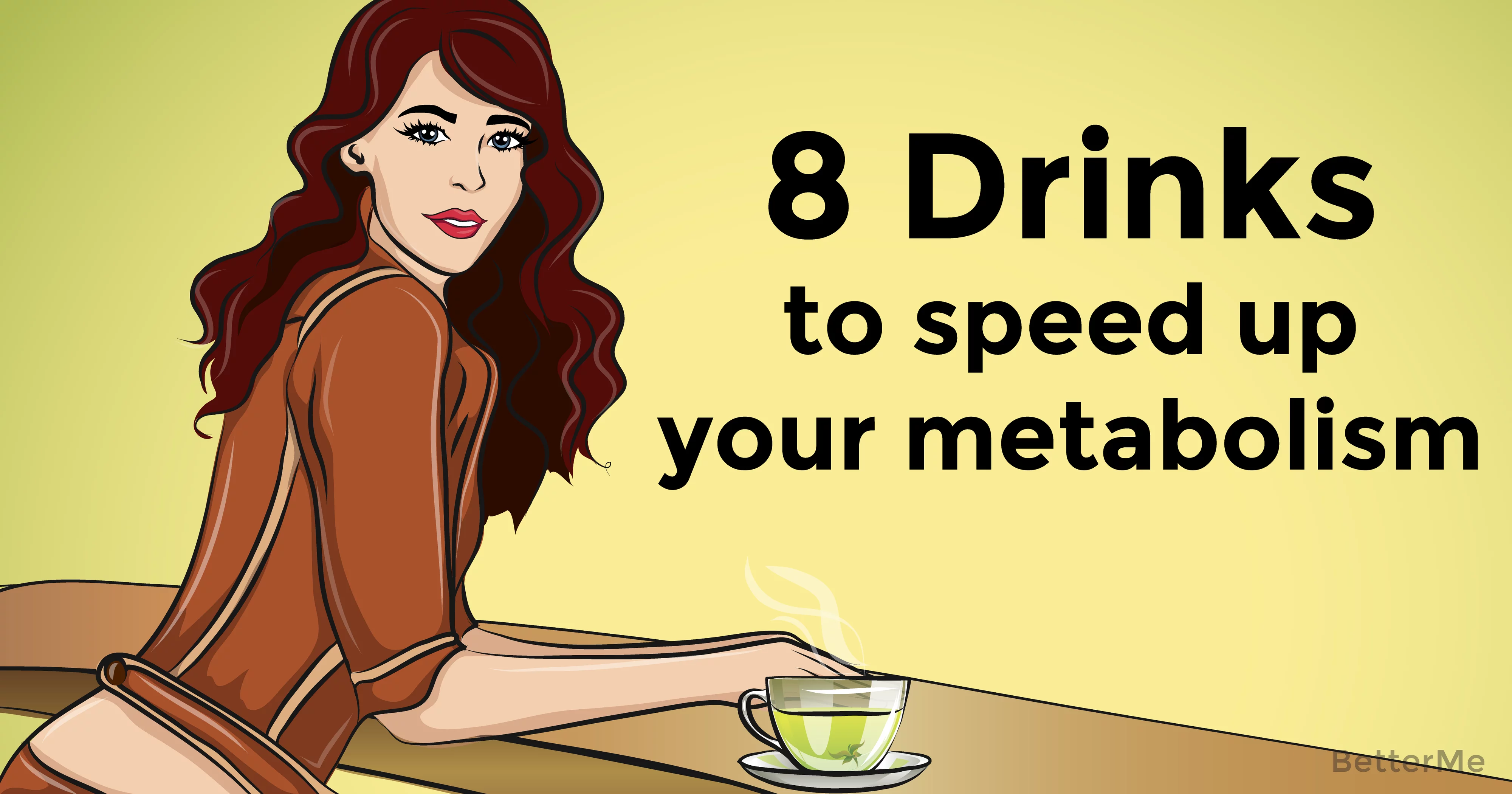 8 metabolism-boosting beverages that can help you tone up your body