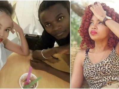 Actress Brenda Wairimu's explosive photos with cat-eye make-up is raising eyebrows