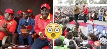 Wakazi wa Kisumu wamkataa hadharani Naibu wa Rais William Ruto (video)