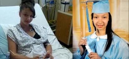 Chica de 15 años recibe una bala salvando bebé mientras el papá huía para salvarse a sí mismo