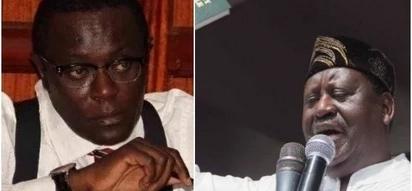 Uhuru anafaa kumkamata Raila Odinga na kumshtaki - Mutahi Ngunyi