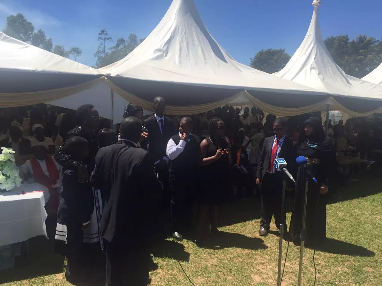 Jacob Juma's secret wives show up at funeral