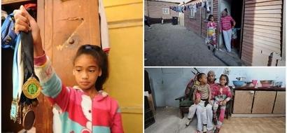 Inspiring! Girl, 11, overcomes poverty and gang violence to emerge as a top gymnast