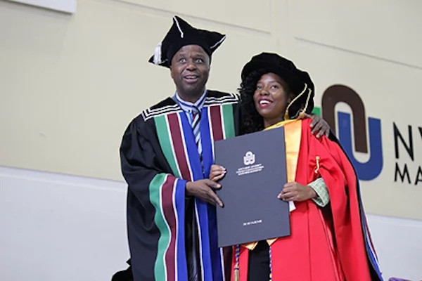 Lady, 23, becomes one of the youngest women in Africa to attain PhD degree