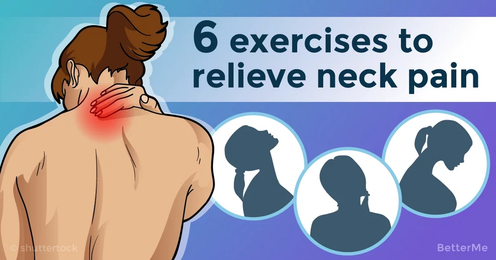 6 simple exercises that can relieve neck pain