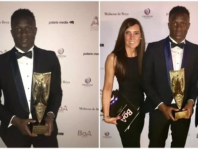 Congrats! Kenya and Tottenham star Victor Wanyama wins PRESTIGIOUS award (photos)