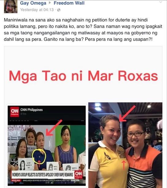 Blackballing Duterte's presidential campaign?