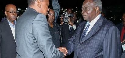 How Kibaki made President Uhuru to skip Labour Day celebrations
