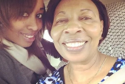 Citizen TV News Anchor Janet Mbugua mourning the loss of loved one