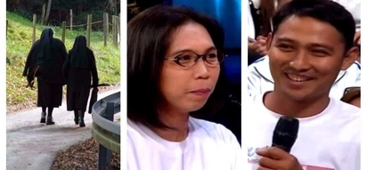 This former nun fell in love with a worker who was repairing her convent! Their epic love story was revealed on 'Wowowin!'