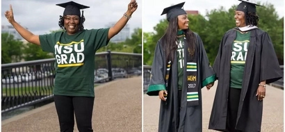 Inspiring! Mother returns to college after 30 YEARS, graduates one week before daughter (photos)