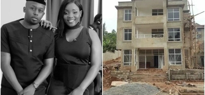 The multi-million mansion that ex-socialite Risper Faith is building with her lover in Kitisuru (Photos)