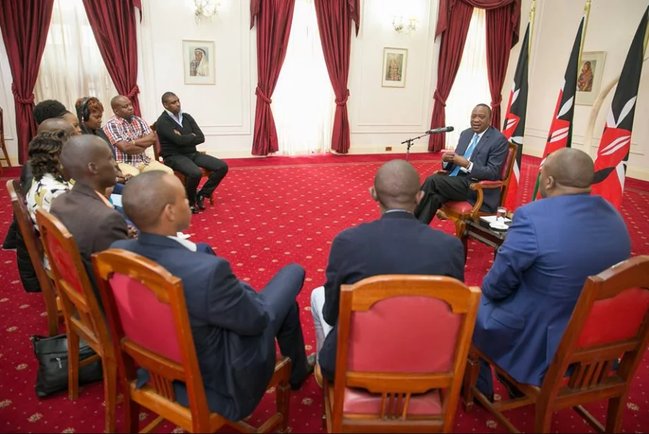 Kenyan opposition leader meets with election body head
