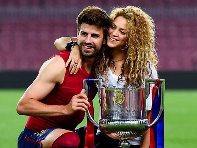 Shakira and her family watch their dad suffer humiliation in Euro