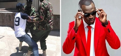 Why rapper, King Kaka was arrested in town by the flying squad