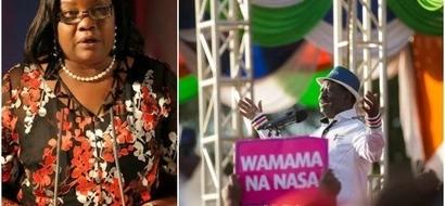 Raila Odinga's wife makes a rare comment about his political future