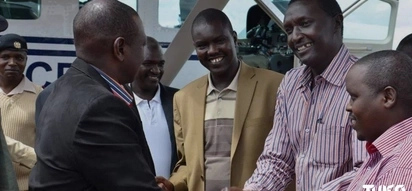 Jubilee MP blames Uhuru for the dramatic arrest of MP Alfred Keter